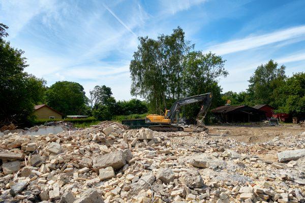 Horbelev Kro Hotel abgerissen