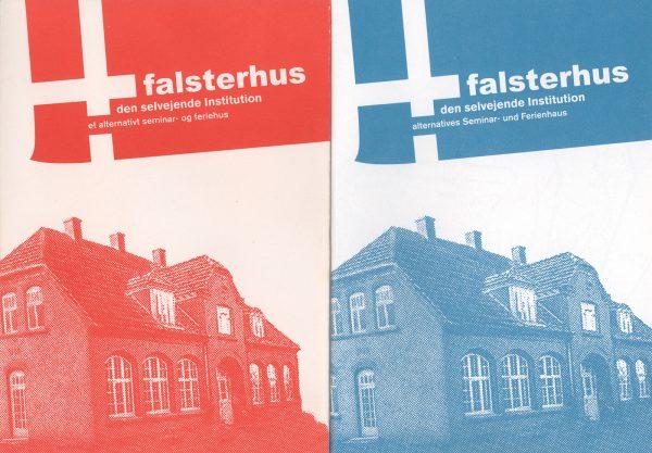 Falsterhus Prospekt Dänisch Deutsch