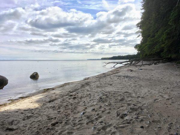 Am Strand von Tunderup