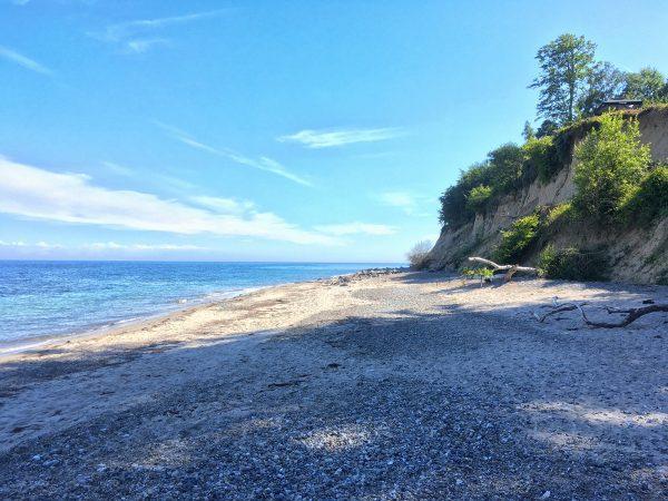 Strand unterhalb von Pomle Nakke