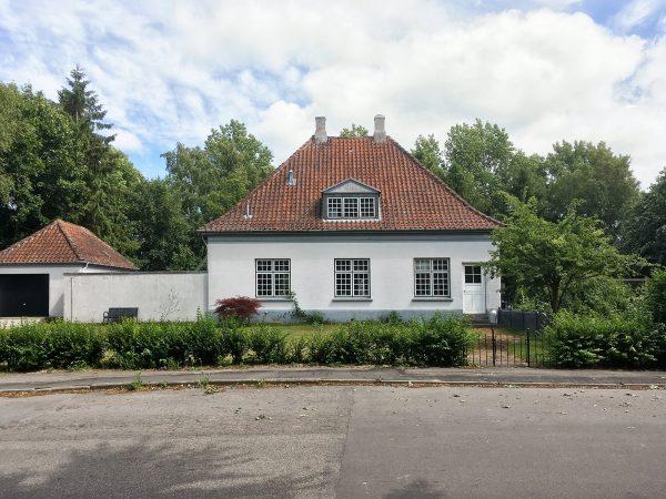 Ehemaliger Bahnhof von Horbelev in der Torvegade 13