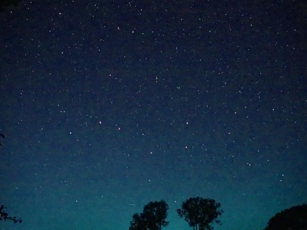Sternenhimmel über dem Falsterhus
