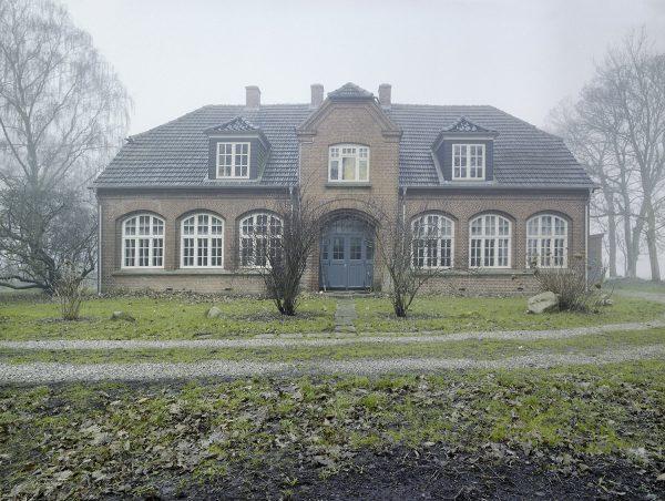 Falsterhus im Nebel