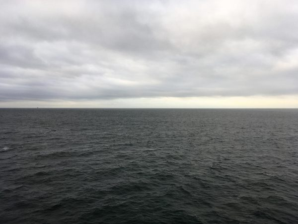 Ostsee. Auf der Fähre von Rödby nach Puttgarden.
